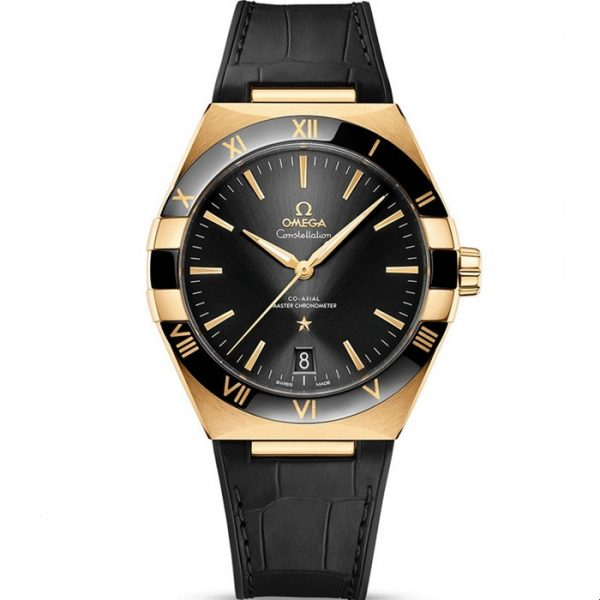 Omega Constellation Master Chronometer 41mm Black Dial 131.63.41.21.01.001 Watch
