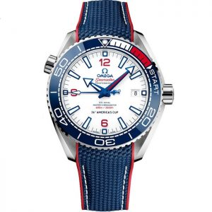 Replica Omega Seamaster Planet Ocean 600M 36th America's Cup 215.32.43.21.04.001 Watch