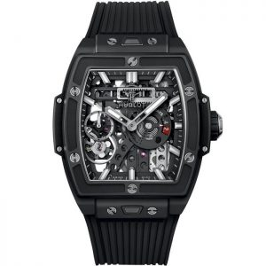 Replica Hublot Spirit Of Big Bang MECA-10 Black Ceramic 614.CI.1170.RX Watch