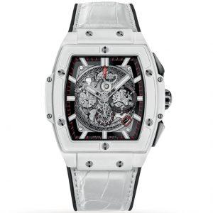 Replica Hublot Spirit Of Big Bang 42mm White Ceramic 641.HX.0173.LR Watch