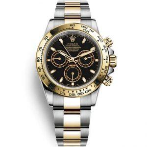 Replica Rolex Daytona Two Tone Stainless Steel Yellow Gold 116503 Watch
