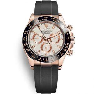 Replica Rolex Daytona Rose Gold Cream Dial 116515LN Watch