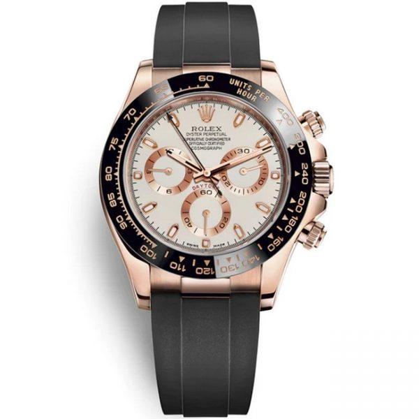 Rolex Daytona Rose Gold Cream Dial 116515LN Watch