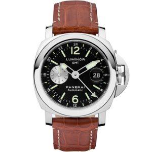 Replica Panerai Luminor GMT Black Dial PAM00088 Watch