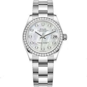 Replica Rolex Datejust 31mm MOP Diamond 278384rbr Women's Watch