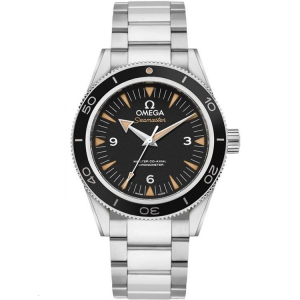 Omega Seamaster 300M Stainless Steel Sand-Blasted Black Dial 233.30.41.21.01.001 Watch