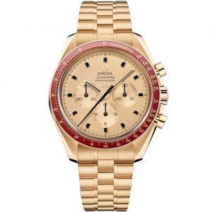 Replica Omega Speedmaster Moonwatch 50th Anniversary Apollo 11 Gold 310.60.42.50.99.001