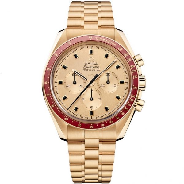 Omega Speedmaster Moonwatch 50th Anniversary Apollo 11 Gold 310.60.42.50.99.001