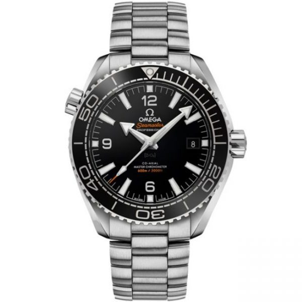 Omega Seamaster Planet Ocean 600M 43.5mm Black Dial 215.30.44.21.01.001 Watch