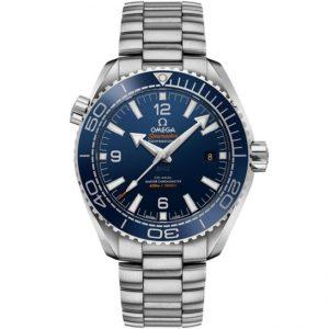 Replica Omega Seamaster Planet Ocean 600M 43.5mm Blue Dial 215.30.44.21.03.001 Watch