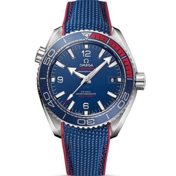 Omega Seamaster Planet Ocean 600M Olympic Games Pyeongchang 2018 522.32.44.21.03.001 Watch
