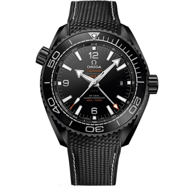 Omega Seamaster Planet Ocean 600M GMT Deep Black 215.92.46.22.01.001 Watch