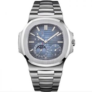 Replica Patek Philippe Nautilus Moon Phase Steel 5712/1A-001 Watch