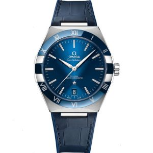Replica Omega Constellation Master Chronometer 41mm Blue Dial 131.33.41.21.03.001 Watch