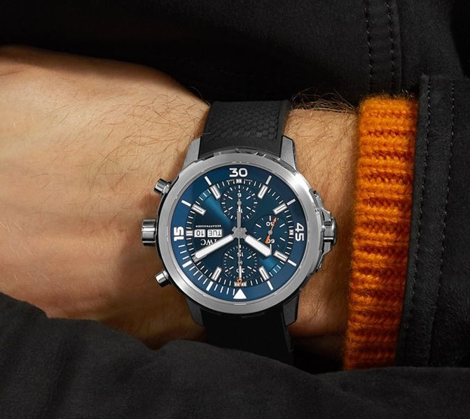 Replica IWC Aquatimer Chronograph Edition Expedition Jacques-Yves Cousteau IW376805