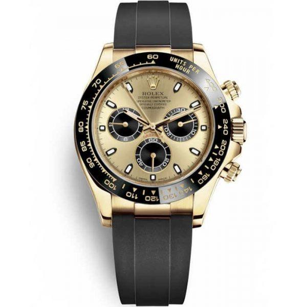 Rolex Daytona Yellow Gold Champagne Dial 116518LN Watch