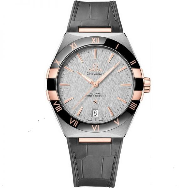 Omega Constellation Master Chronometer 41mm Grey Dial 131.23.41.21.06.001 Watch