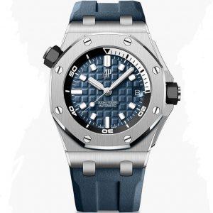 Replica Audemars Piguet Royal Oak Offshore Diver Navy Blue 15720ST.OO.A027CA.01 Watch