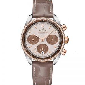Replica Omega Speedmaster Chronograph Diamond Ladies 324.28.38.50.02.002 Watch