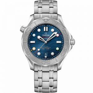Replica Omega Seamaster Diver 300m Beijing 2022 522.30.42.20.03.001 Watch