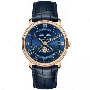 Replica Blancpain Villeret Quantième Complete Calendar 6654-3640-55 Watch