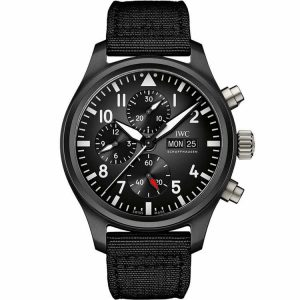 Replica IWC Pilot's Chronograph Top Gun IW389101 Watch