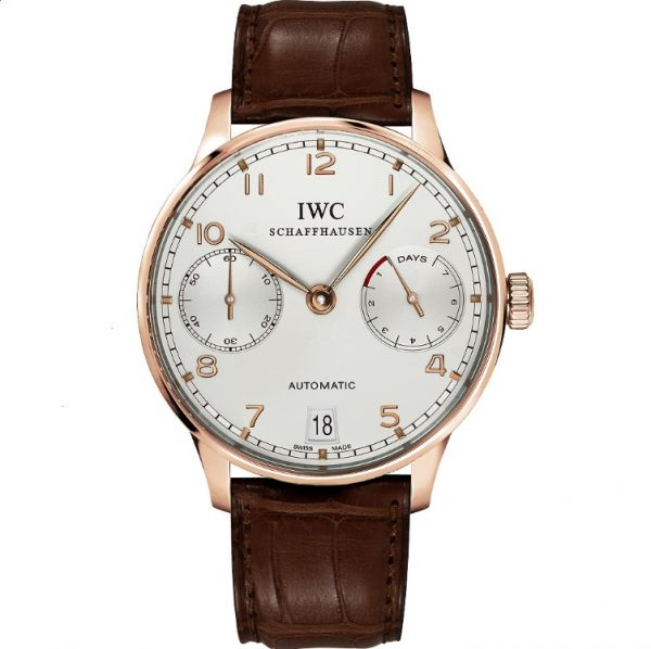 IWC Portuguese 7 Day Automatic Rose Gold IW500701 Watch