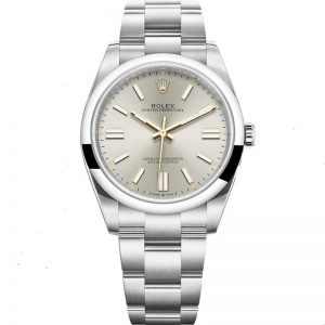 Replica Rolex Oyster Perpetual 41mm Silver Dial 124300 Watch