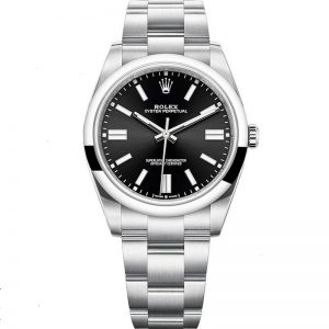 Replica Rolex Oyster Perpetual 41mm Black Dial 124300 Watch