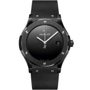 Replica Hublot Classic Fusion 40 Years Anniversary Black Ceramic Watch 511.CX.1270.RX.MDM40