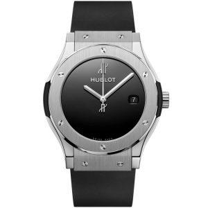 Replica Hublot Classic Fusion 40 Years Anniversary Titanium Watch 511.NX.1270.RX.MDM40