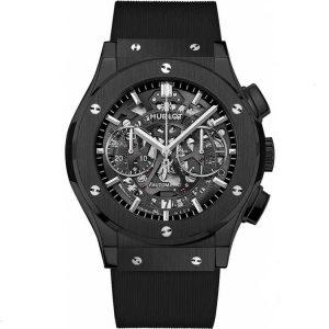 Replica Hublot Classic Fusion Aerofusion Chronograph Black Magic Watch 525.CM.0170.RX