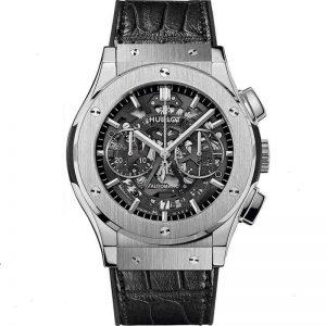 Replica Hublot Classic Fusion Aerofusion Chronograph Titanium Watch 525.NX.0170.LR