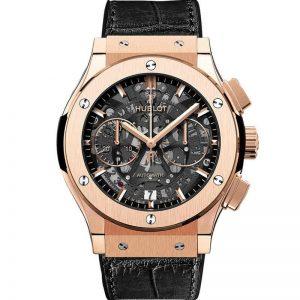 Replica Hublot Classic Fusion Aerofusion Chronograph Rose Gold Watch 525.OX.0180.LR
