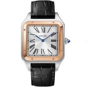 Replica Cartier Santos Dumont XL Two Tone W2SA0017 Watch