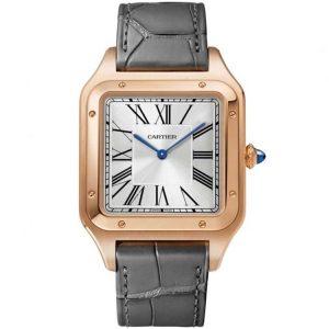 Replica Cartier Santos Dumont XL Rose Gold WGSA0032 Watch