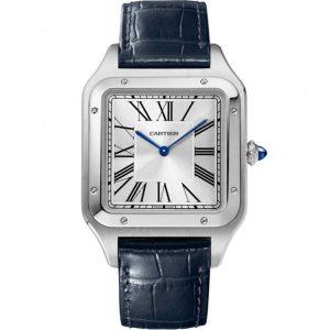 Replica Cartier Santos Dumont XL Steel WSSA0032 Watch
