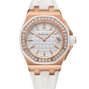 Replica Audemars Piguet Royal Oak Offshore Diamond 37mm Ladies 67540OK.ZZ.A010CA.01 Watch