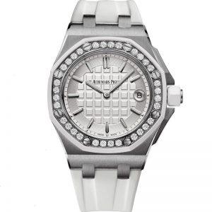 Replica Audemars Piguet Royal Oak Offshore Diamond 37mm Ladies 67540SK.ZZ.A010CA.01 Watch