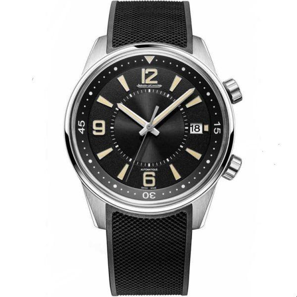 Jaeger-LeCoultre Polaris Date Black Dial 9068670 Watch