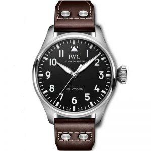 Replica IWC Big Pilot 43mm Black Dial IW329301 Watch