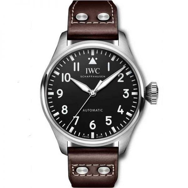IWC Big Pilot 43mm Black Dial IW329301 Watch