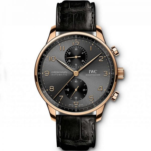 IWC Portuguese Chronograph Automatic Rose Gold IW371482 Watch