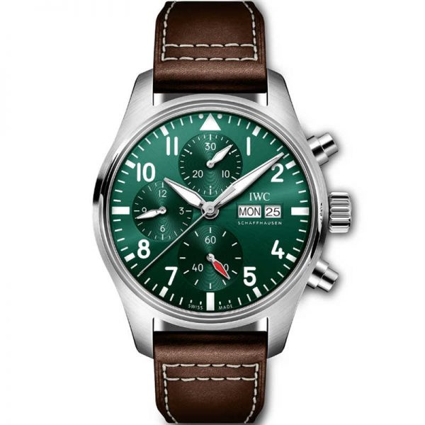 IWC Pilot Chronograph Automatic Green Dial IW388103 Watch
