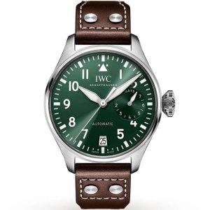 Replica IWC Big Pilot 46mm Green Dial IW501015 Watch