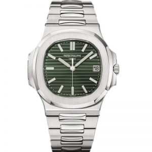 Replica Patek Philippe Nautilus Olive Green 5711/1A-014 Watch